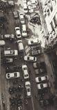 El estacionamiento del coche Fotos de archivo