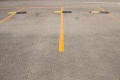 El estacionamiento del coche Imagenes de archivo