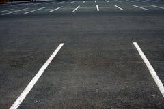 El estacionamiento vacío foto de archivo libre de regalías
