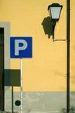 El estacionar en guimaraes Fotografía de archivo libre de regalías
