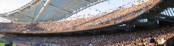 El estadio Fotografía de archivo libre de regalías