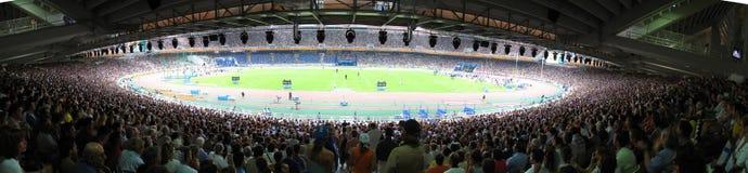 El estadio foto de archivo