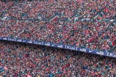 El estadio de Atletico Madrid, España foto de archivo libre de regalías