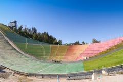 El estadio de Bergisel Ski Jump, Innsbruck, Austria Fotografía de archivo