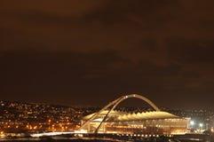 El estadio de fútbol de Durban Moses Mabhida imagen de archivo libre de regalías