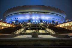 El estadio de fútbol principal para el mundial 2018 Foto de archivo