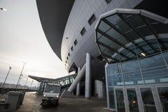 El estadio de fútbol principal para el mundial 2018 Imágenes de archivo libres de regalías