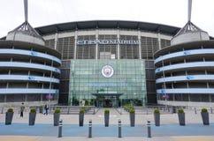 El estadio de Manchester City Etihad fotos de archivo