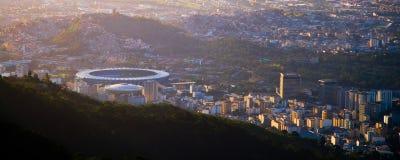 Estadio de Maracana en Río de Janeiro Fotos de archivo