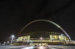 El estadio de Wembley en Londres Fotos de archivo libres de regalías