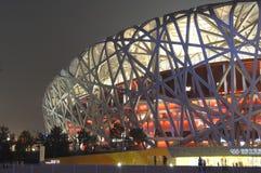 El estadio del nacional de Pekín Imágenes de archivo libres de regalías