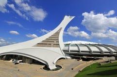 El estadio olímpico de Montreal Fotografía de archivo