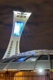 El estadio Olímpico Montreal Imagenes de archivo