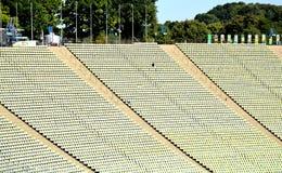 El estadio Olímpico, Munich, Alemania - 31 de julio de 2015 Foto de archivo libre de regalías