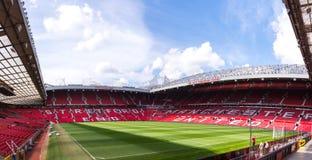 El estadio viejo de Trafford Fotos de archivo libres de regalías