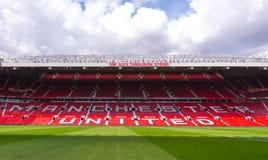 El estadio viejo de Trafford Fotografía de archivo libre de regalías