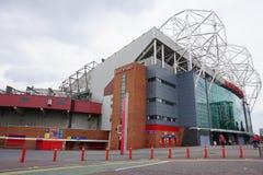 El estadio viejo de Trafford del Manchester United imagen de archivo libre de regalías