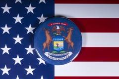 El estado de Michigan en los E.E.U.U. fotos de archivo