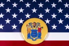 El estado de New Jersey en los E.E.U.U. foto de archivo libre de regalías