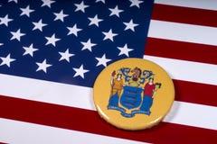 El estado de New Jersey en los E.E.U.U. fotografía de archivo libre de regalías