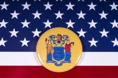 El estado de New Jersey en los E.E.U.U. fotos de archivo libres de regalías