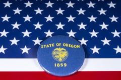 El estado de Oregon en los E.E.U.U. imágenes de archivo libres de regalías