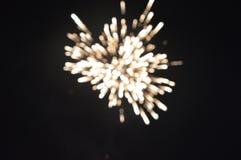 El estallar de la galleta del fuego Fotos de archivo