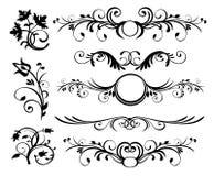 El estilo adorna vector Fotografía de archivo libre de regalías