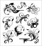 El estilo adorna vector Imagen de archivo