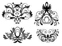El estilo adorna vector Imagen de archivo libre de regalías