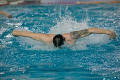 El estilo de la natación Imagenes de archivo