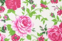 El estilo del vintage de la tapicería florece el fondo del modelo de la tela Imagen de archivo libre de regalías