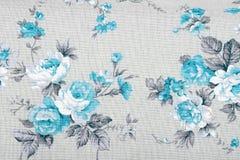 El estilo del vintage de la tapicería florece el fondo del modelo de la tela Imagenes de archivo
