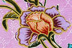 El estilo del vintage de la tapicería florece el modelo de la tela Fotos de archivo