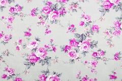 El estilo del vintage de la tapicería florece el modelo de la tela Fotografía de archivo libre de regalías
