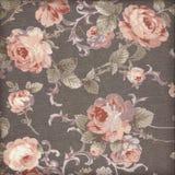El estilo del vintage de la tapicería florece el fondo del modelo de la tela Fotografía de archivo libre de regalías