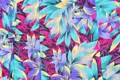 El estilo del vintage de la tapicería florece la tela Imagen de archivo libre de regalías