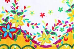 El estilo del vintage de la tapicería florece la tela Fotografía de archivo libre de regalías