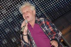 El estrella del pop Boris Moiseyev Fotos de archivo libres de regalías