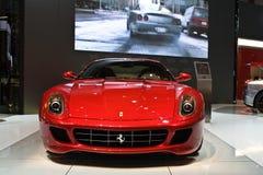 El estreno mundial del Ferrari 599xx Fotografía de archivo libre de regalías
