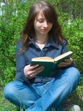 El estudiante antes de la examinación Imagenes de archivo