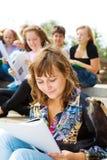 El estudiar de los estudiantes Imagen de archivo