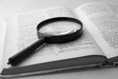 El estudiar del idioma extranjero Imágenes de archivo libres de regalías