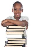 El estudiar del niño Fotografía de archivo libre de regalías