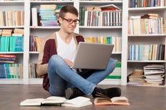 El estudiar en muy un punto. Fotos de archivo