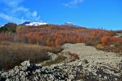El Etna Imagen de archivo