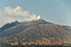 El Etna Fotografía de archivo libre de regalías