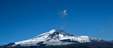 El Etna Fotografía de archivo