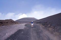 El Etna fotos de archivo