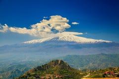 el Etna, Sicilia, Italia Imagen de archivo